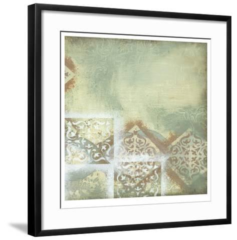 Weathered I-Jennifer Goldberger-Framed Art Print