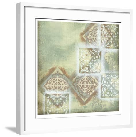 Weathered II-Jennifer Goldberger-Framed Art Print