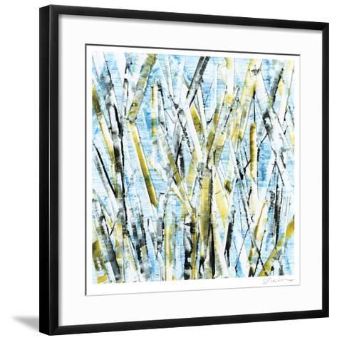 Birches IV-Sharon Gordon-Framed Art Print