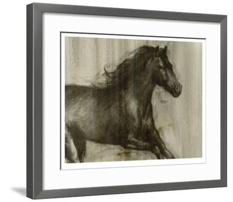 Dynamic Stallion I-Ethan Harper-Framed Art Print