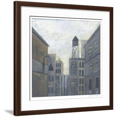 City View II-Megan Meagher-Framed Art Print