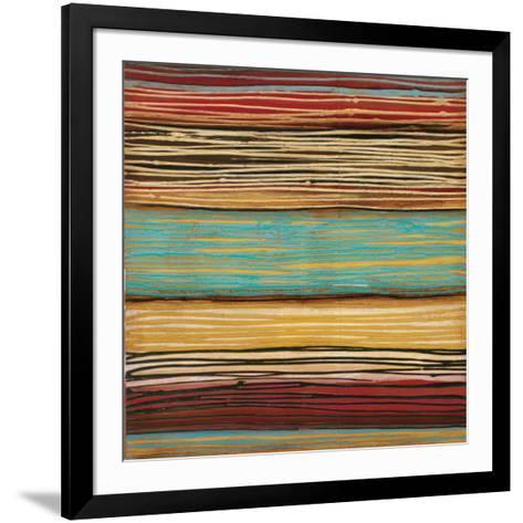 Seaside Stripes II-Susan Hayes-Framed Art Print