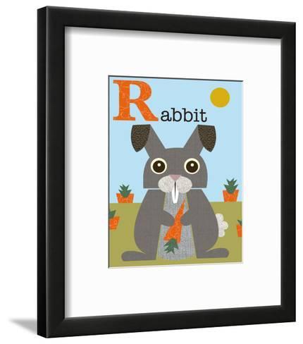 Rabbit-Jenn Ski-Framed Art Print