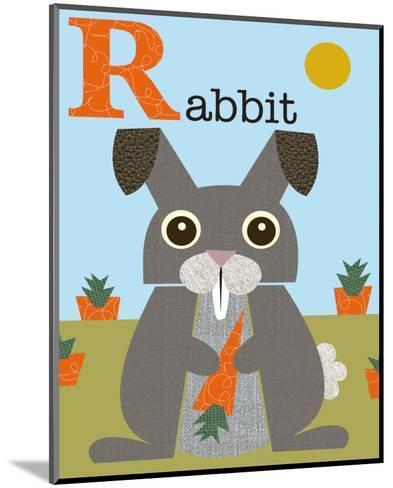 Rabbit-Jenn Ski-Mounted Art Print