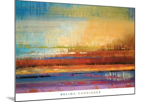 Horizons II-Selina Rodriguez-Mounted Art Print
