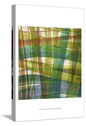 Paintstroke Tile I-Jason Higby-Stretched Canvas Print