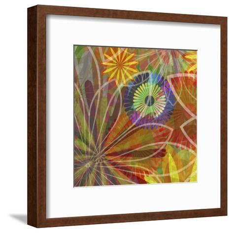 Fluoresce I-James Burghardt-Framed Art Print