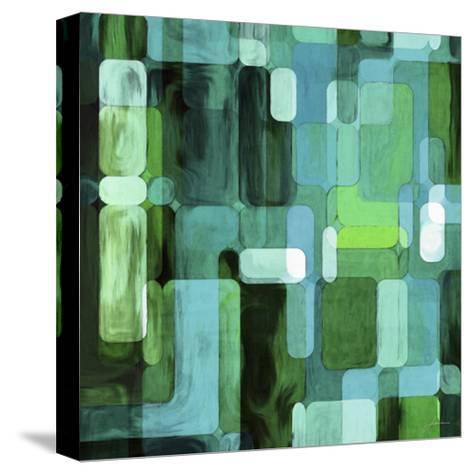 Modular Tiles II-James Burghardt-Stretched Canvas Print