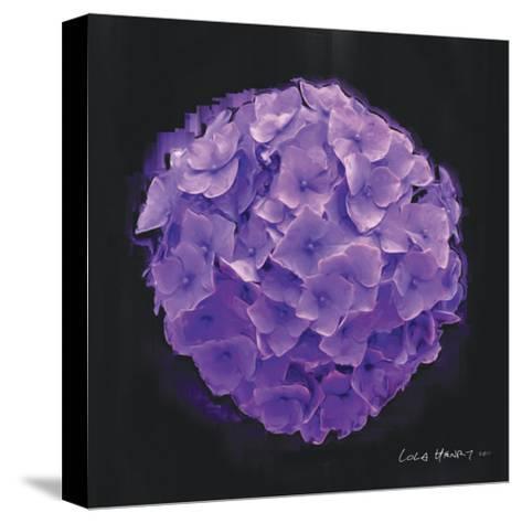 Vibrant Flower I-Lola Henry-Stretched Canvas Print