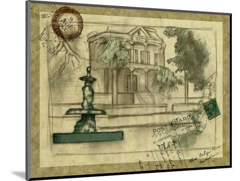 Small Postcard from the Villa II-Jennifer Goldberger-Mounted Art Print