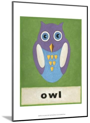 O is for Owl-Chariklia Zarris-Mounted Art Print