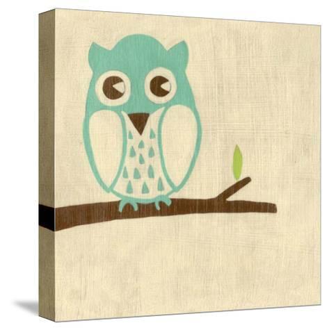 Best Friends - Owl-Chariklia Zarris-Stretched Canvas Print