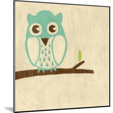 Best Friends - Owl-Chariklia Zarris-Mounted Art Print