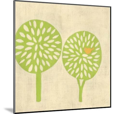Best Friends - Trees-Chariklia Zarris-Mounted Art Print