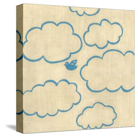 Best Friends - Sky-Chariklia Zarris-Stretched Canvas Print