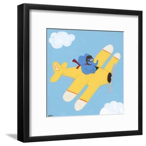 In the Clouds III-Erica J^ Vess-Framed Art Print