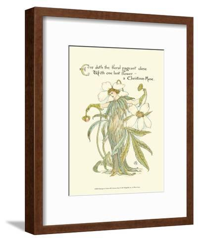 Shakespeare's Garden XII (Christmas Rose)-Walter Crane-Framed Art Print