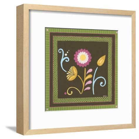 Patchwork Garden II-Erica J^ Vess-Framed Art Print