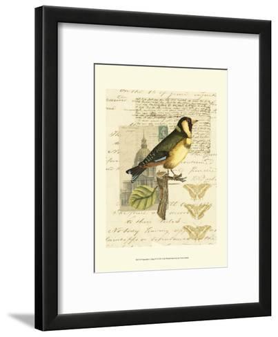 Naturalist's Collage IV--Framed Art Print