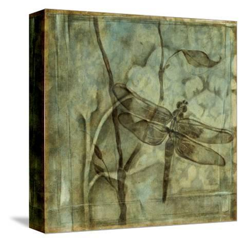 Small Ethereal Wings II-Jennifer Goldberger-Stretched Canvas Print