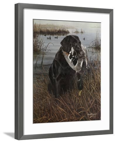 A Friend in the Marsh-Kevin Daniel-Framed Art Print