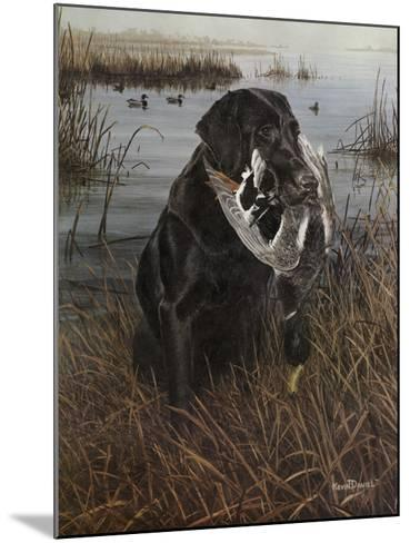 A Friend in the Marsh-Kevin Daniel-Mounted Art Print