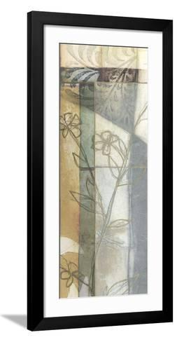 Stained Glass Garden IV-Jennifer Goldberger-Framed Art Print
