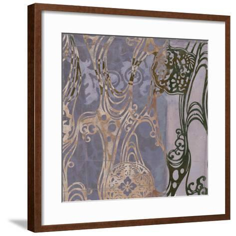 Medallions & Damask I-Jennifer Goldberger-Framed Art Print