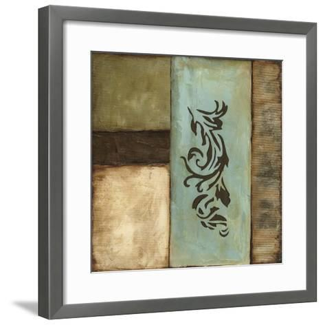 Fusion I-Jennifer Goldberger-Framed Art Print