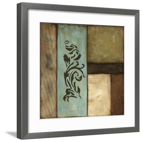 Fusion II-Jennifer Goldberger-Framed Art Print