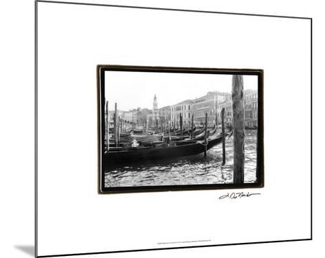 Waterways of Venice IX-Laura Denardo-Mounted Premium Giclee Print