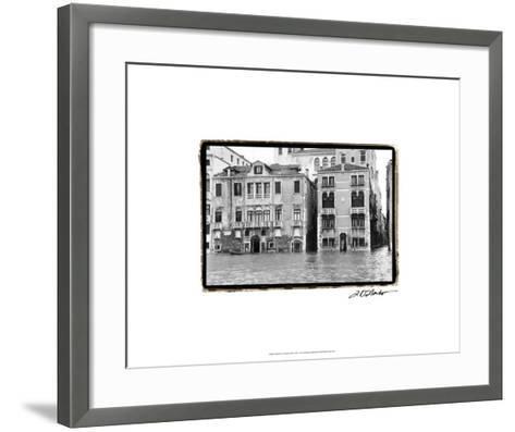 Waterways of Venice XVI-Laura Denardo-Framed Art Print