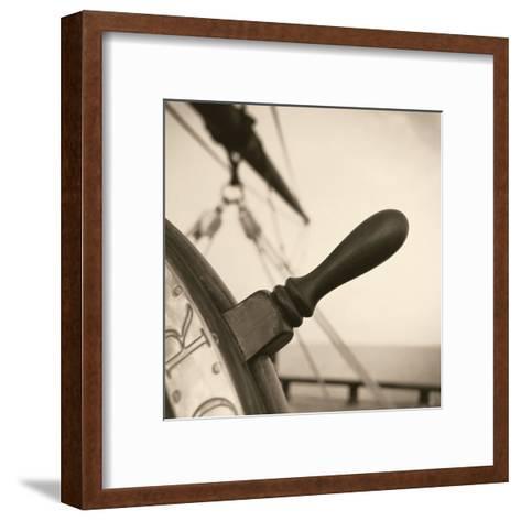 Nautical Aspect I-Michael Kahn-Framed Art Print