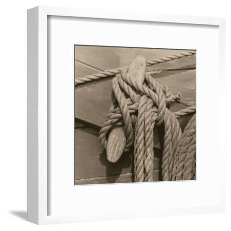 Nautical Aspect IV-Michael Kahn-Framed Art Print