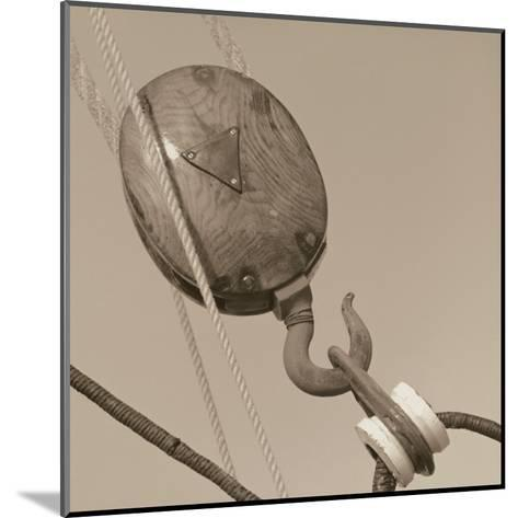 Nautical Aspect VI-Michael Kahn-Mounted Art Print