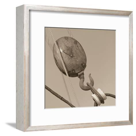 Nautical Aspect VI-Michael Kahn-Framed Art Print