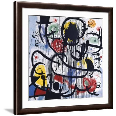 May, 1968-Joan Mir?-Framed Art Print