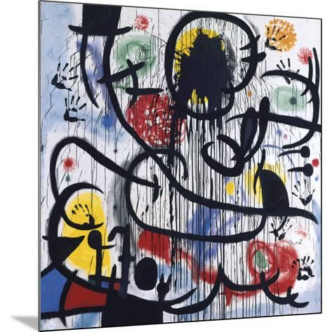 May, 1968-Joan Mir?-Mounted Art Print