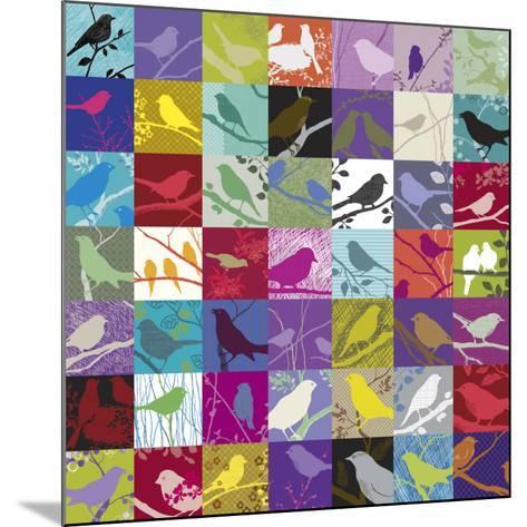 Birdland-Alistair Forbes-Mounted Art Print