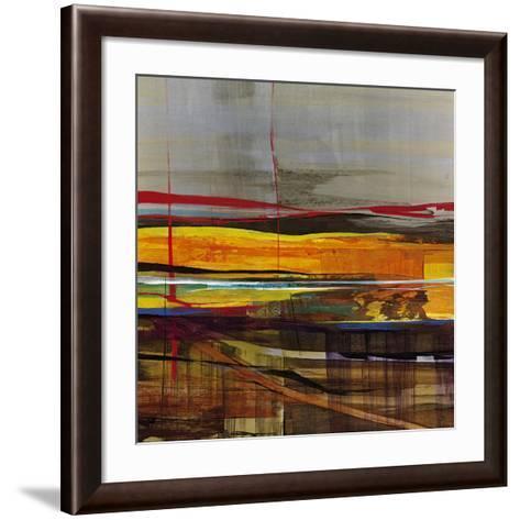 Vector-Santiago-Framed Art Print