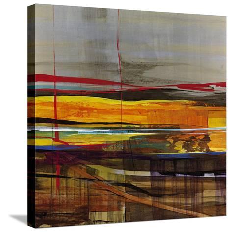Vector-Santiago-Stretched Canvas Print