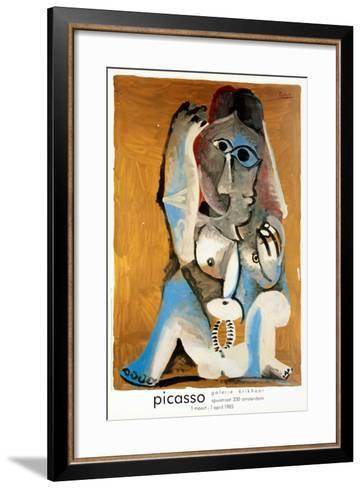 Femme Accroupie-Pablo Picasso-Framed Art Print