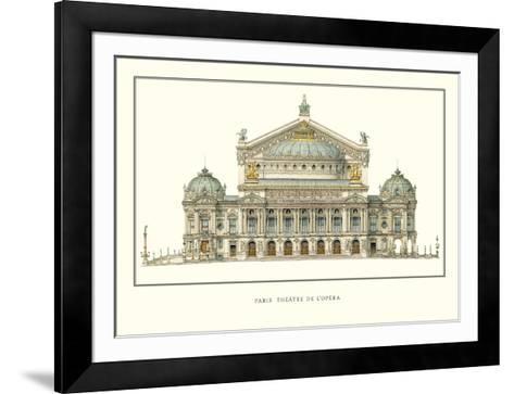 Paris, Theatre de l'Opera, Paris-Charles Garnier-Framed Art Print