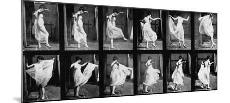 Dancing Girl, 1887-Eadweard Muybridge-Mounted Giclee Print