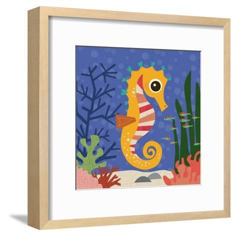 Ocean Friends, Samuel-Jenn Ski-Framed Art Print