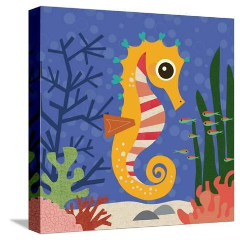 Ocean Friends, Samuel-Jenn Ski-Stretched Canvas Print