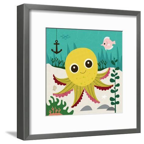 Ocean Friends, Olga-Jenn Ski-Framed Art Print