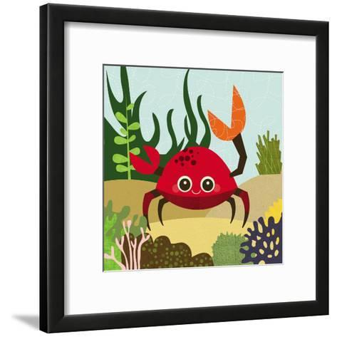 Ocean Friends, Carla-Jenn Ski-Framed Art Print