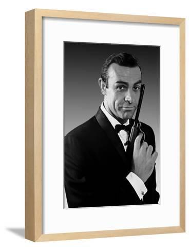 James Bond--Framed Art Print