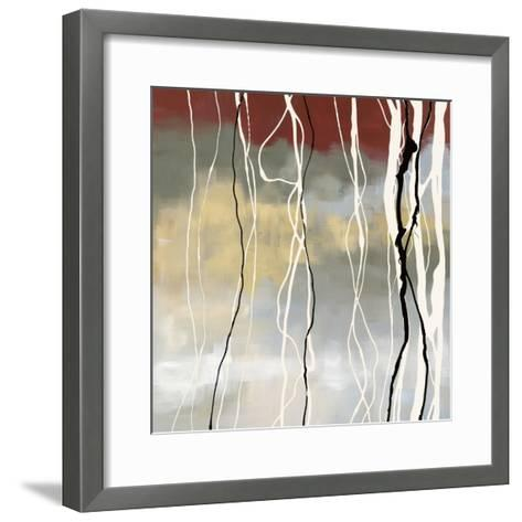 Silver Birch I-Laurie Maitland-Framed Art Print